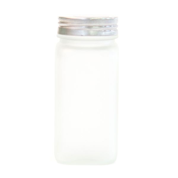 Frosted Glass Spice Jar