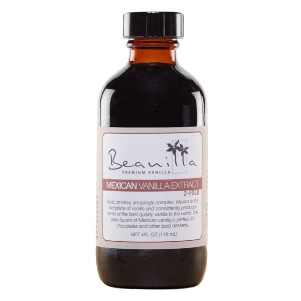 Pure Mexican Vanilla Extract (Double-Fold)