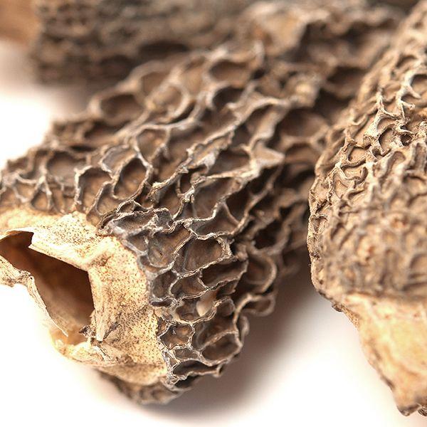 Morel Mushrooms, Whole (Dried)