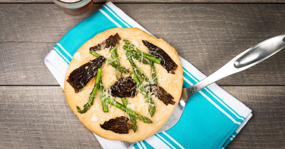 Morel Pizza