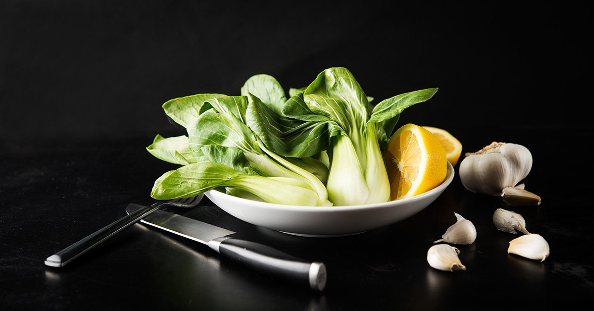 Roasted Bok Choy Recipe