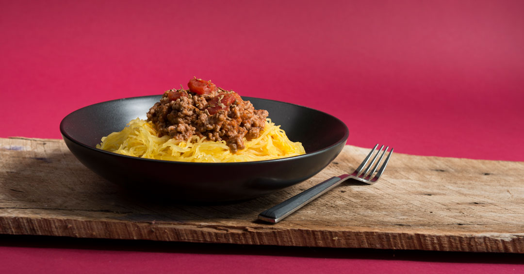 Easy Spaghetti Squash Bolognese