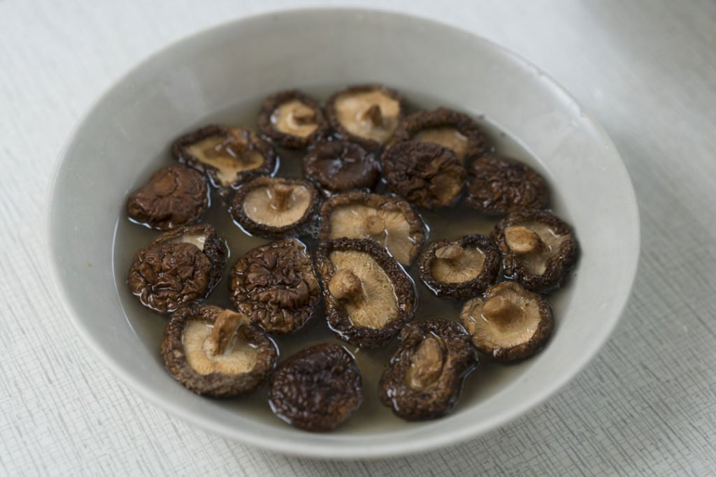 How to rehydrate dried mushrooms.