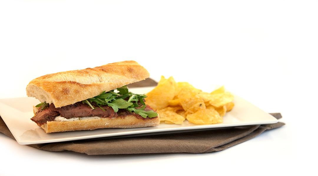 Chimichurri Flank Steak Sandwich