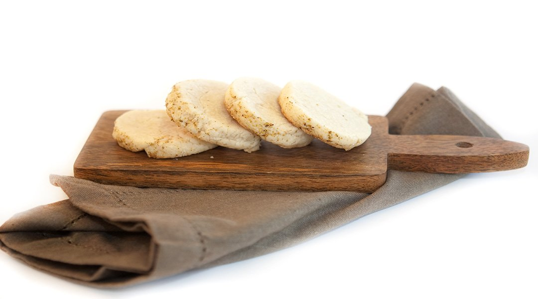fennel pollen shortbread cookies