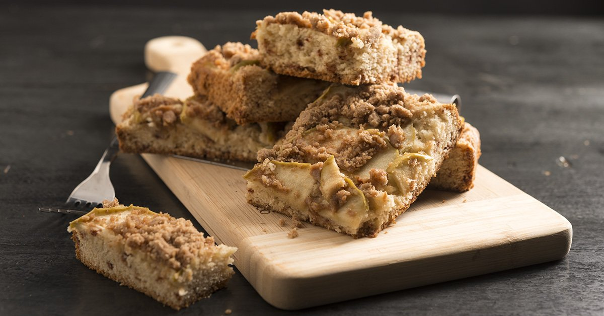 Spiced Apple Coffee Cake Recipe