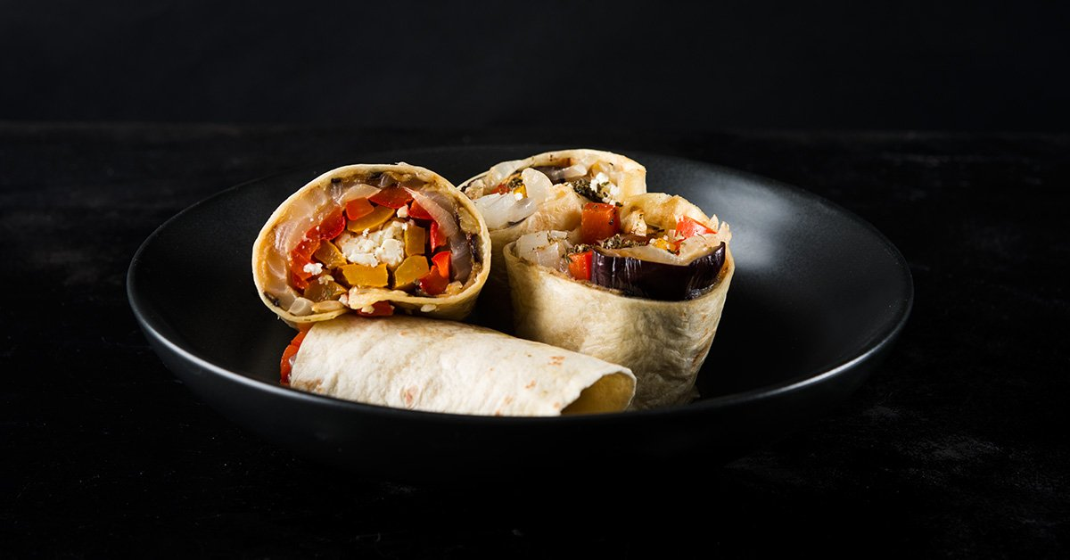 Roasted Vegetable Wrap