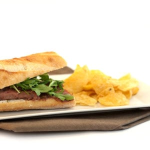 Chimichurri Flank Steak Sandwich