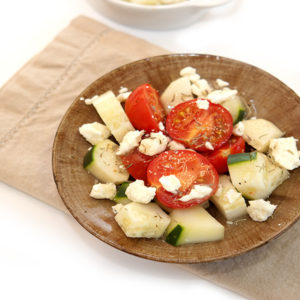 Tomato Cucumber And Feta Salad