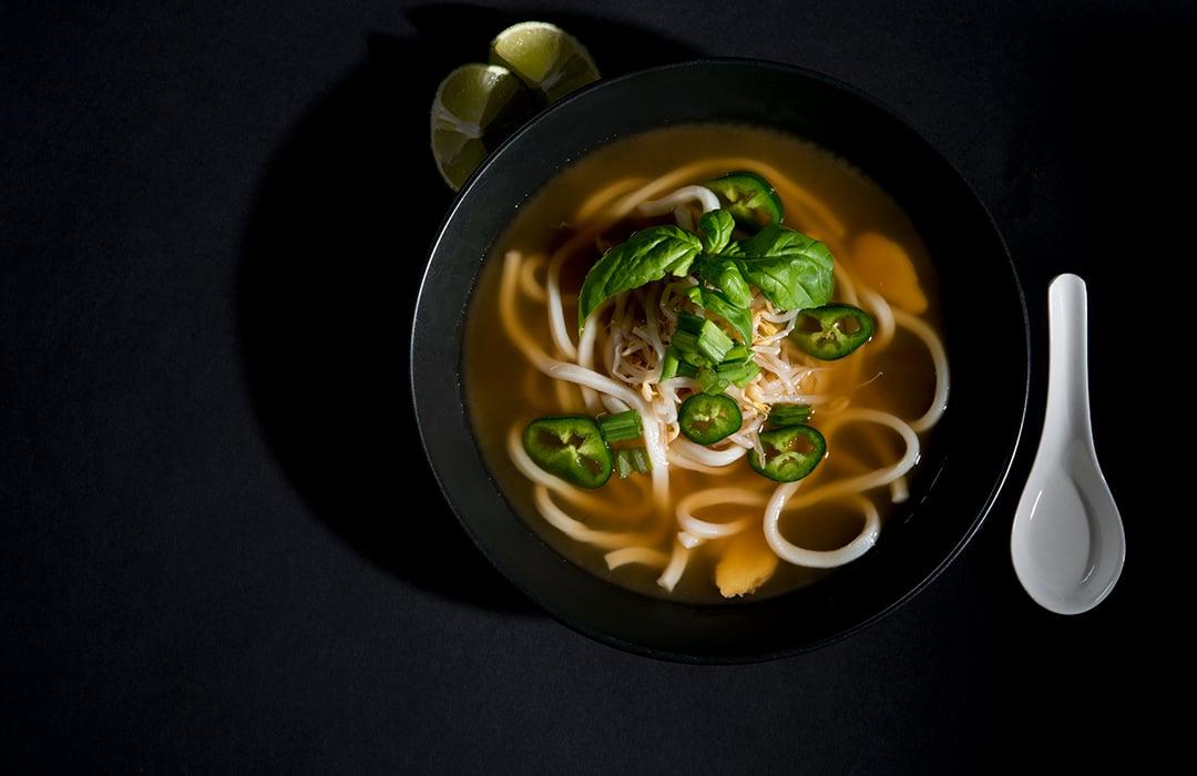 Vegetarian Pho (Vietnamese Noodle Soup) - Recipe
