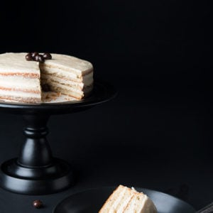 Chai Tea Vanilla Layer Cake
