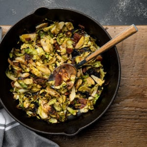 Tangy Roasted Brussels Sprouts