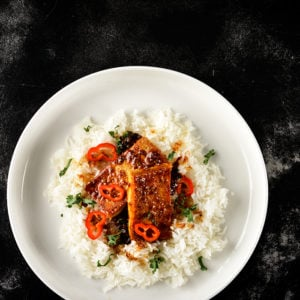 Sweet and Peppery Five Spice Tofu