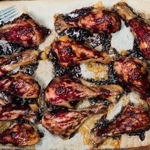Spicy Grilled Blueberry Chicken